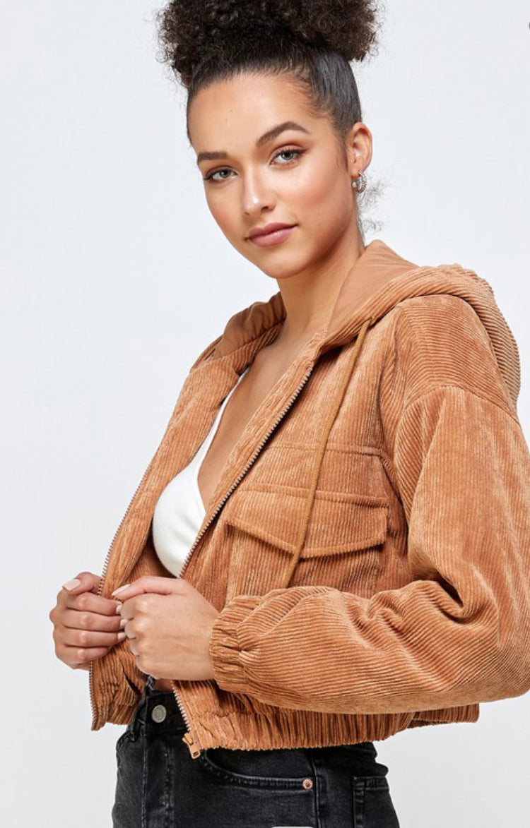 Carmen Corduroy Jacket (2 colors available)