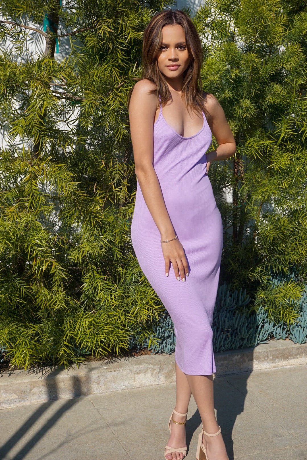 Emma Lavender Dress