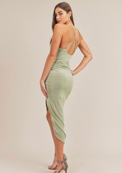 Mia Draped Dress