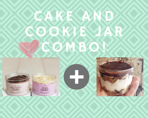 Cake Jar and Cookie Jar Gift Box