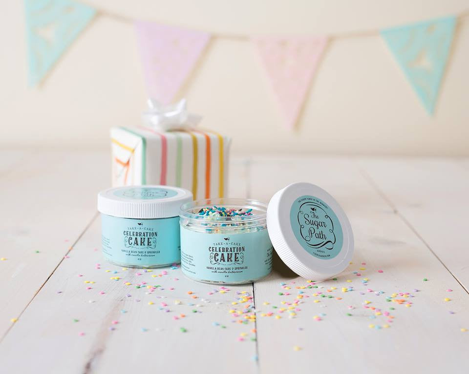 Cake Jars, Gift Box of 2