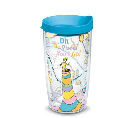Dr. Seuss™ - Oh the Places You'll Go 16 oz Cup Wrap w/ Lid