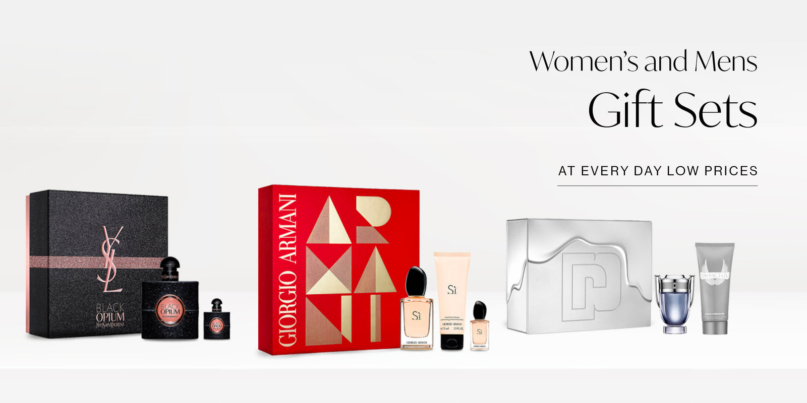 Warehouse industry perfume and cosmetic sets