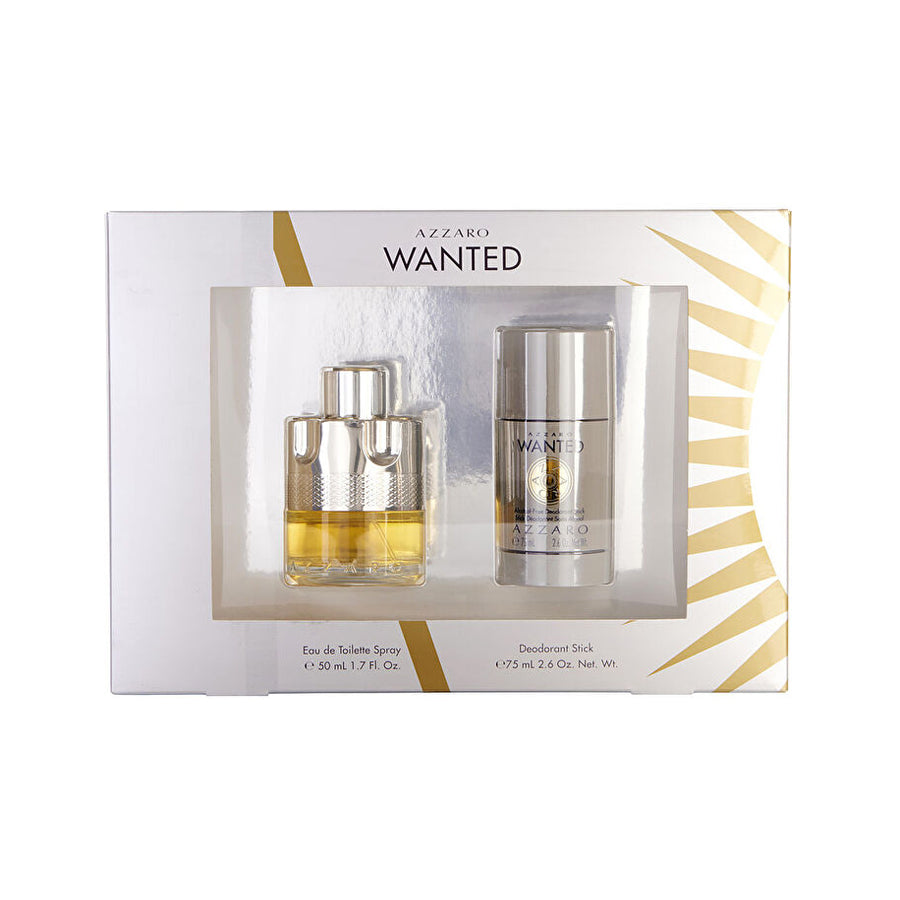 Azzaro Wanted Eau De Toilette 50ml Gift Set