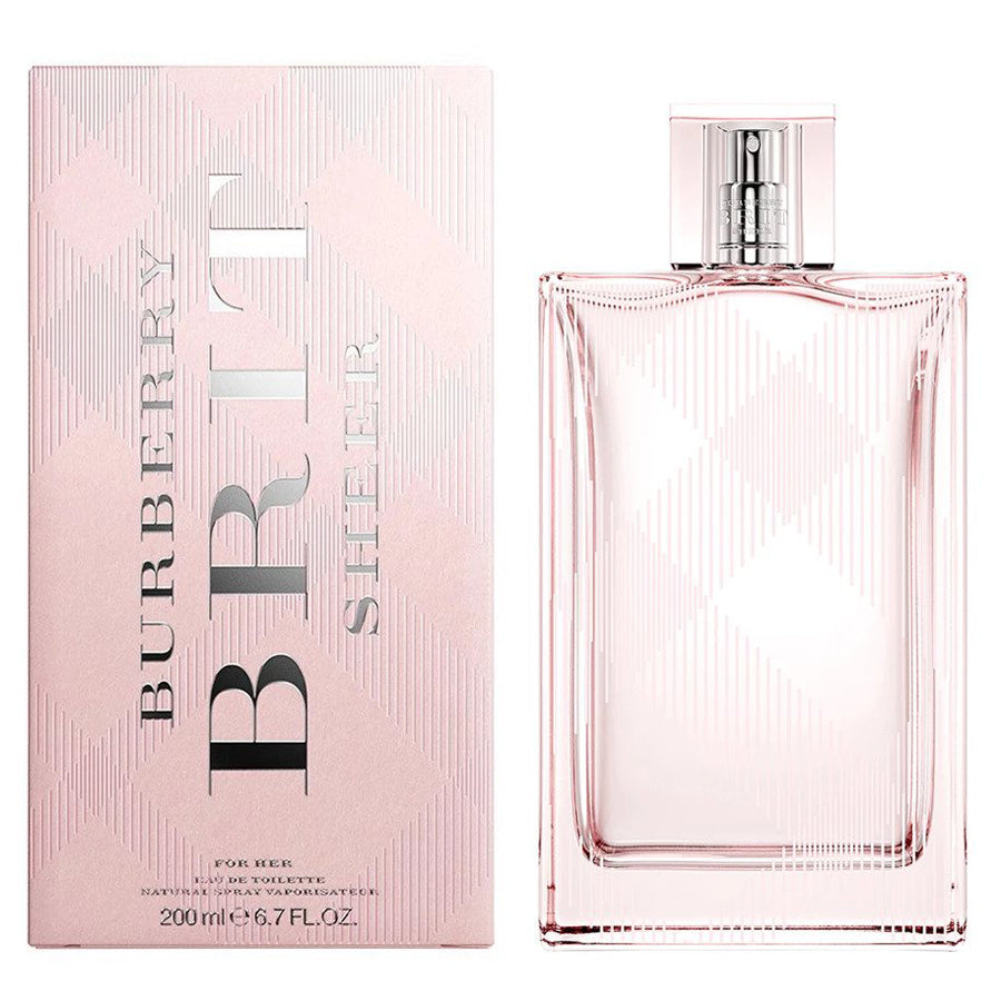 Burberry Brit Sheer Eau De Toilette 200ml