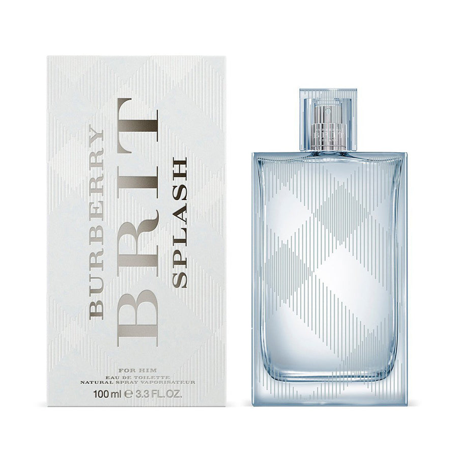 Burberry Brit Splash For Him Eau De Toilette 100ml