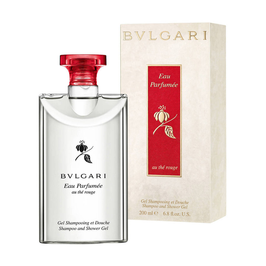 Bvlgari Eau Parfumee Au The Rouge Shampoo & Shower Gel 200ml