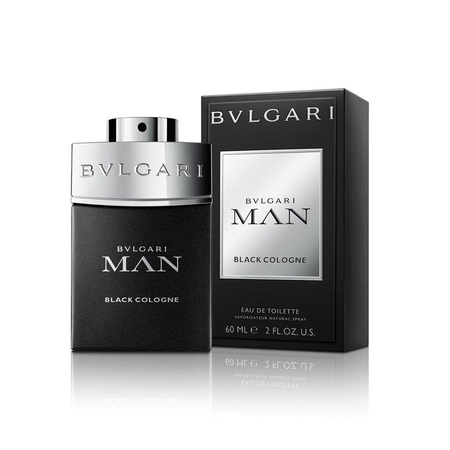 Bvlgari Man Black Cologne Eau De Toilette 60ml