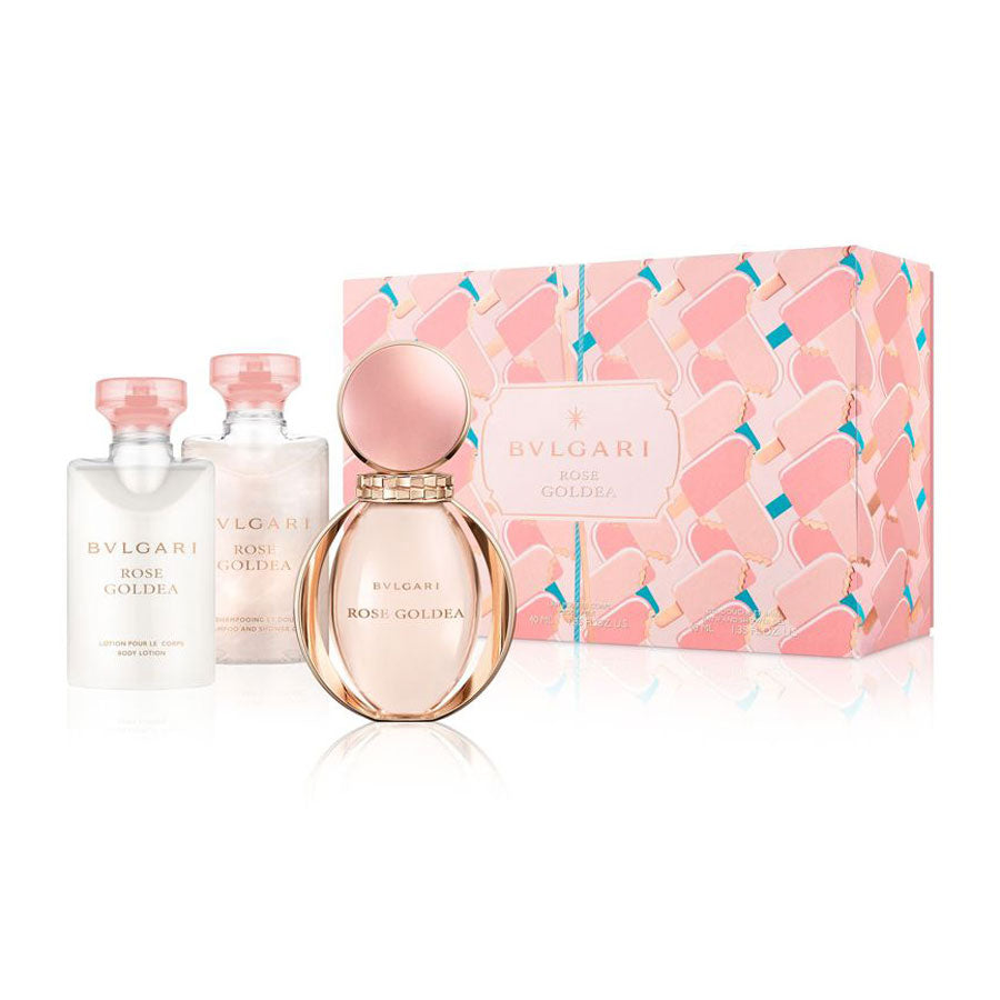 Bvlgari Rose Goldea Eau De Parfum 50ml Gift Set