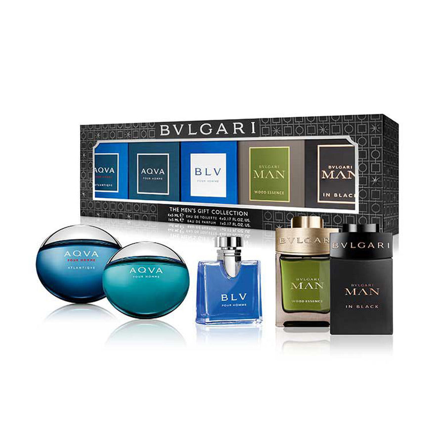 Bvlgari The Men's Gift Collection Miniature Gift Set