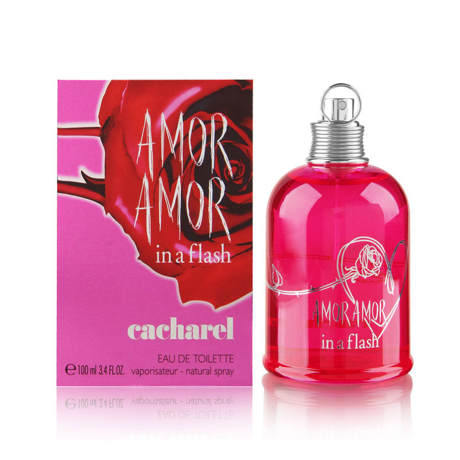 Cacharel Amor Amor In A Flash Eau De Toilette 100ml