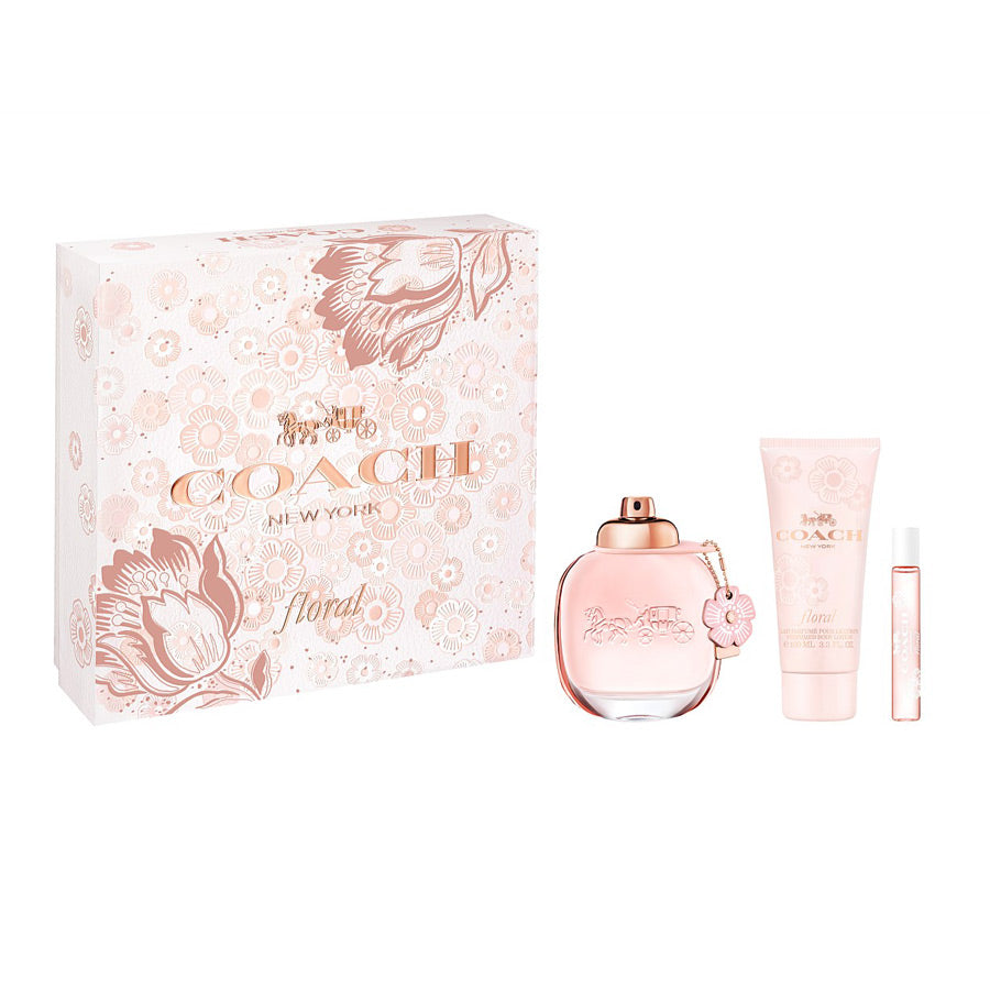 Coach Floral Eau De Parfum 90ml Gift Set