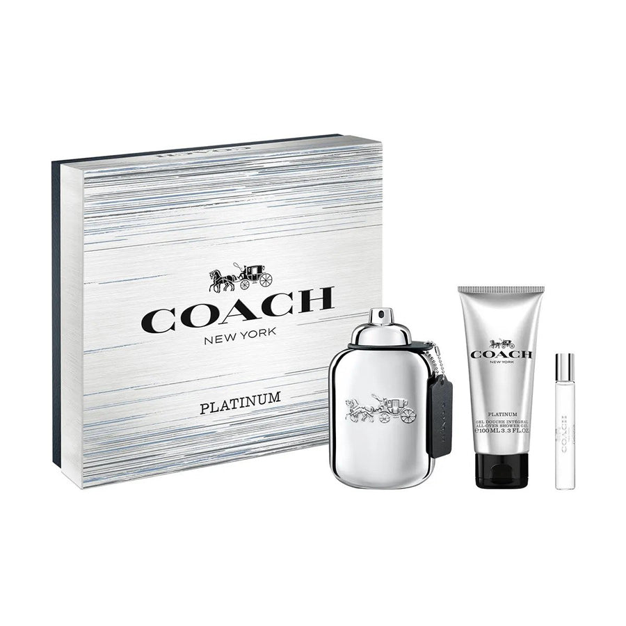 Coach Platinum Eau De Parfum 100ml Gift Set