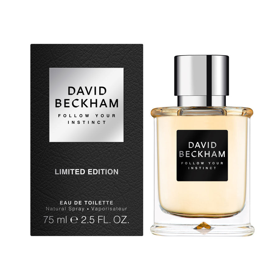 David Beckham Follow Your Instinct Eau De Toilette 75ml