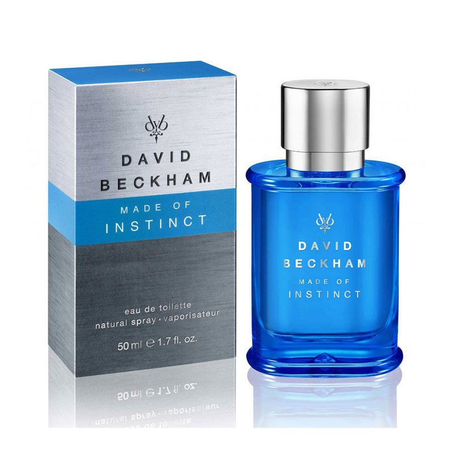 David Beckham Made Of Instinct Eau De Toilette 50ml