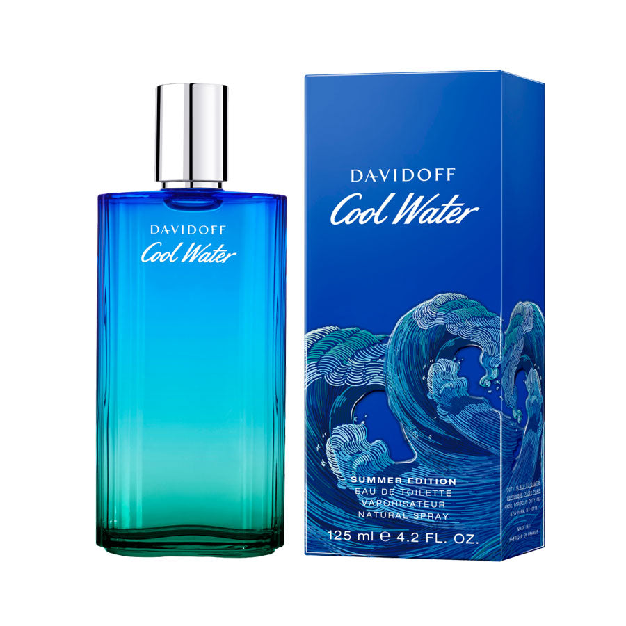 Davidoff Cool Water Mediterranean Summer Edition Eau De Toilette 125ml