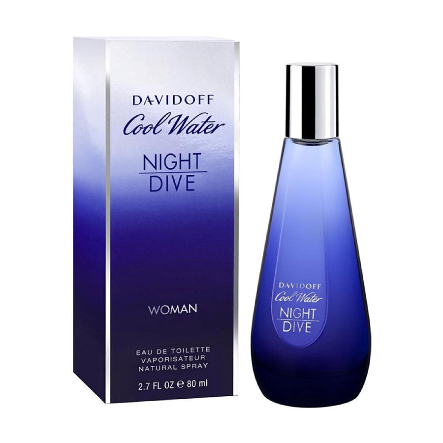 New davidoff cool water woman night dive eau de toilette - Davidoff night dive ...