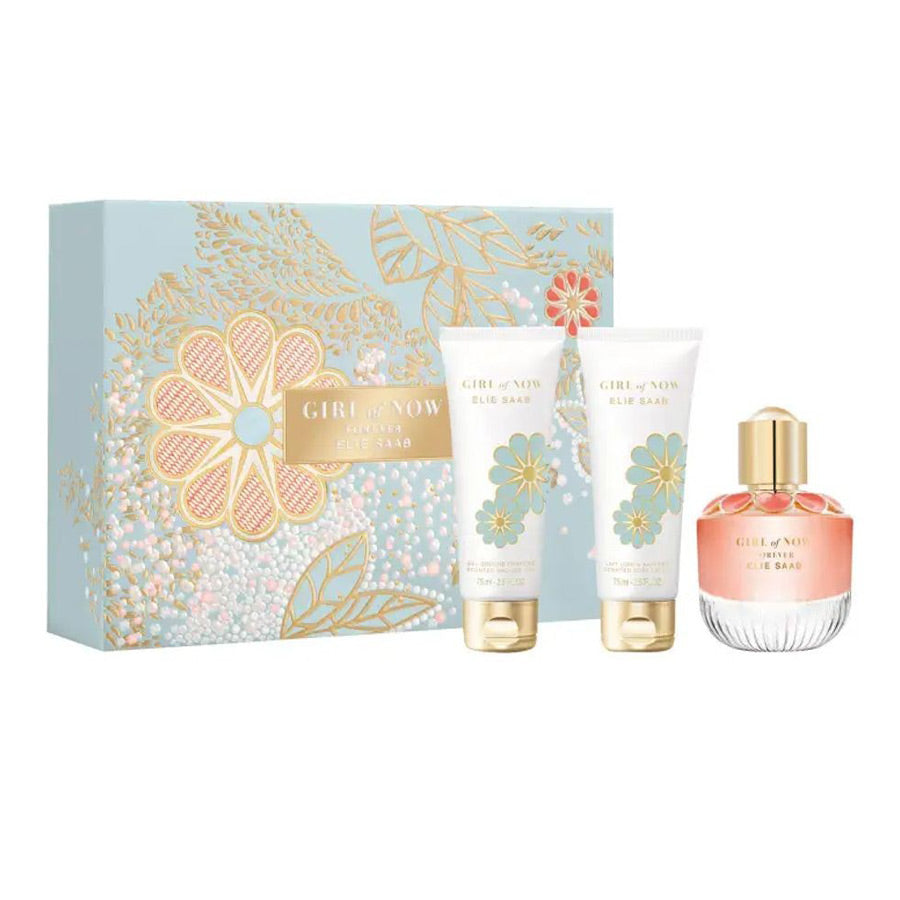 Elie Saab Girl Of Now Forever Eau De Parfum 50ml Gift Set