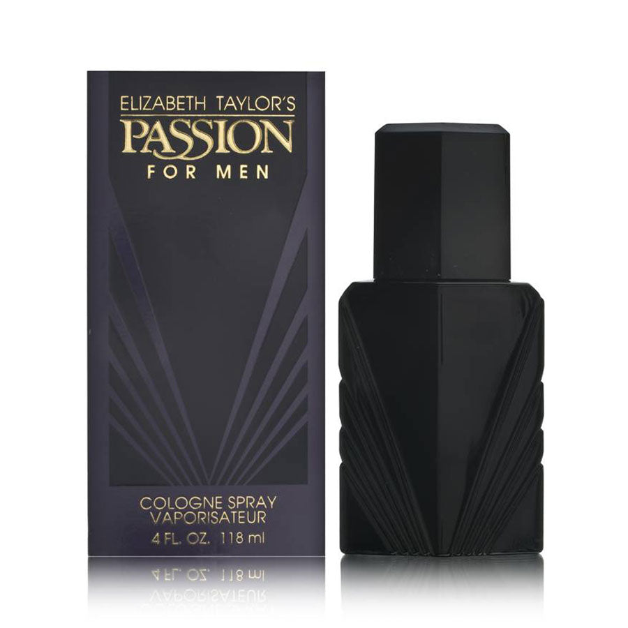 Elizabeth Taylor Passion for Men Cologne Spray 118ml