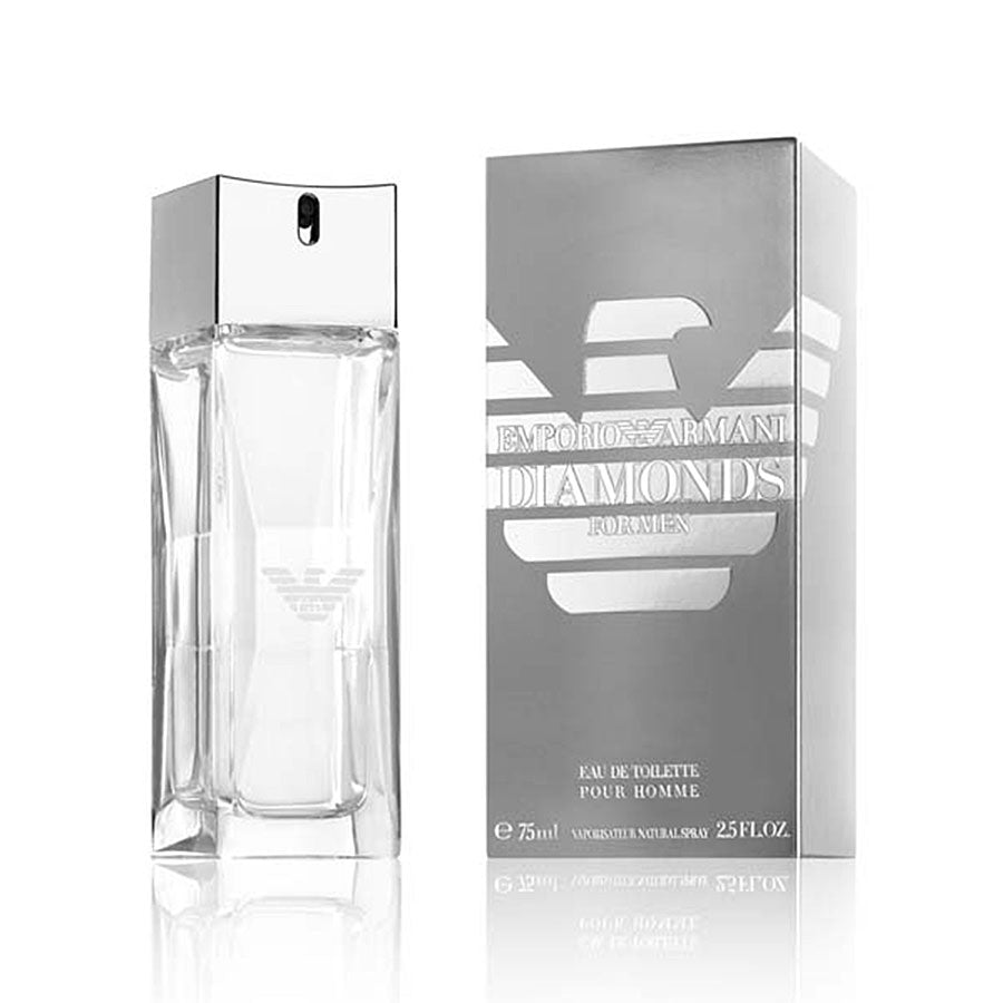 Emporio Armani Diamonds For Men Eau De Toilette 75ml Perfume Giorgio Women 100ml