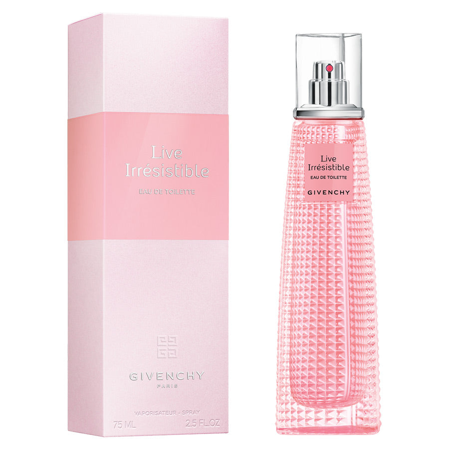 Givenchy Live Irresistible Eau De Toilette 75ml