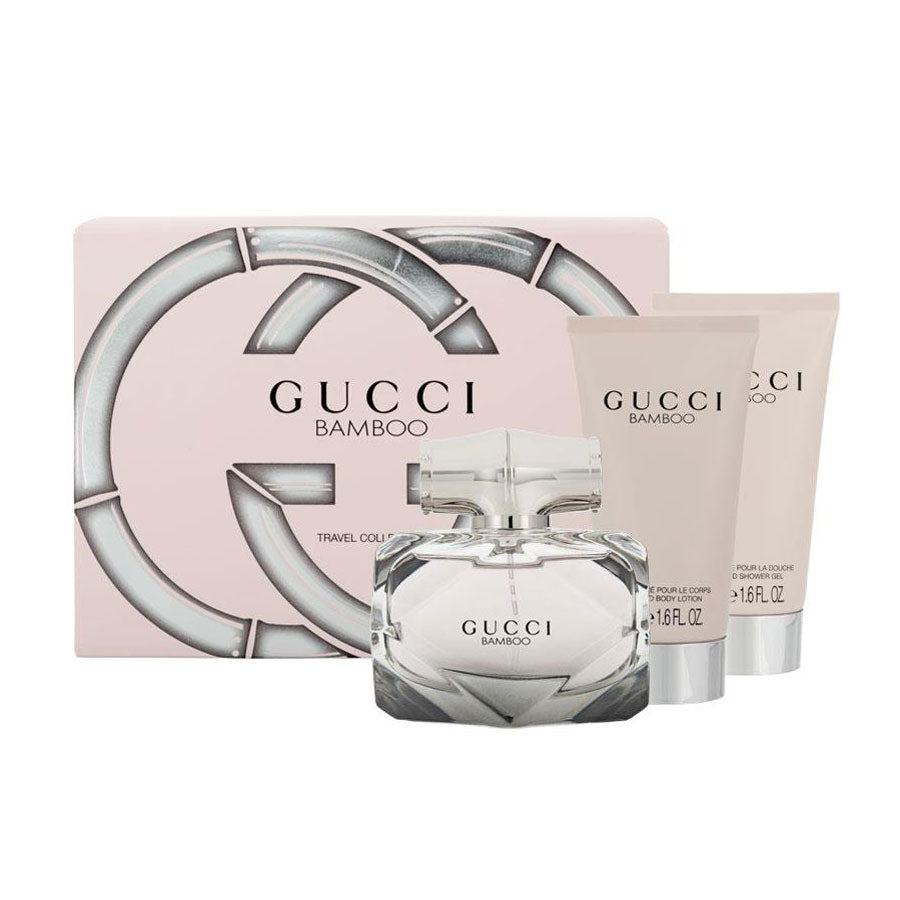 Gucci Bamboo Eau De Parfum 50ml Travel Collection Gift Set