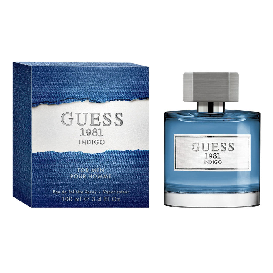 Guess 1981 Indigo For Men Eau De Toilette 100ml