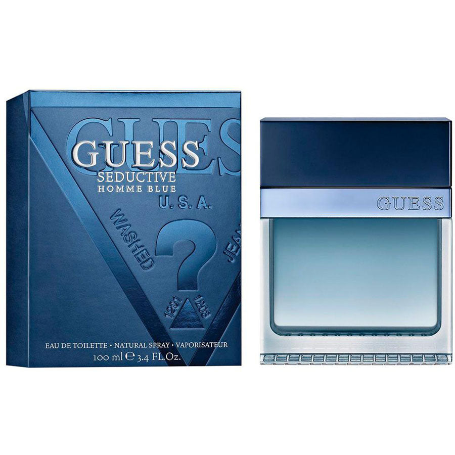 Guess Seductive Homme Blue Eau De Toilette 100ml
