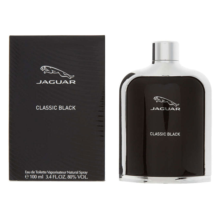 Jaguar Classic Black Eau De Toilette 100ml
