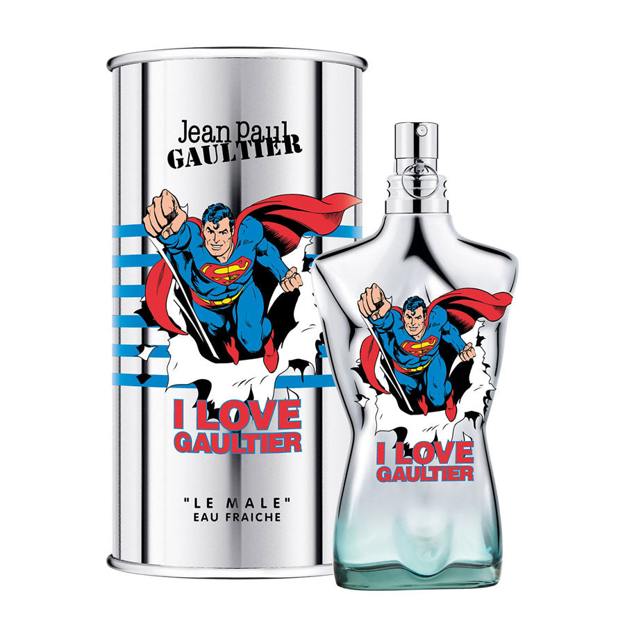 Jean Paul Gaultier Le Male Eau Fraiche Superman Limited Edition 125ml