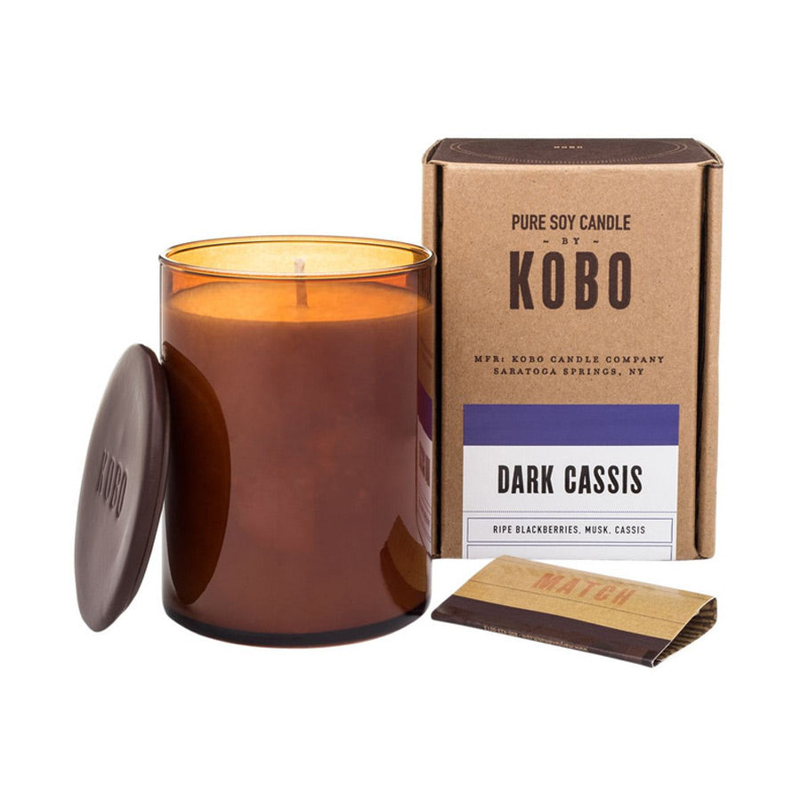 Kobo Dark Cassis Candle 312g