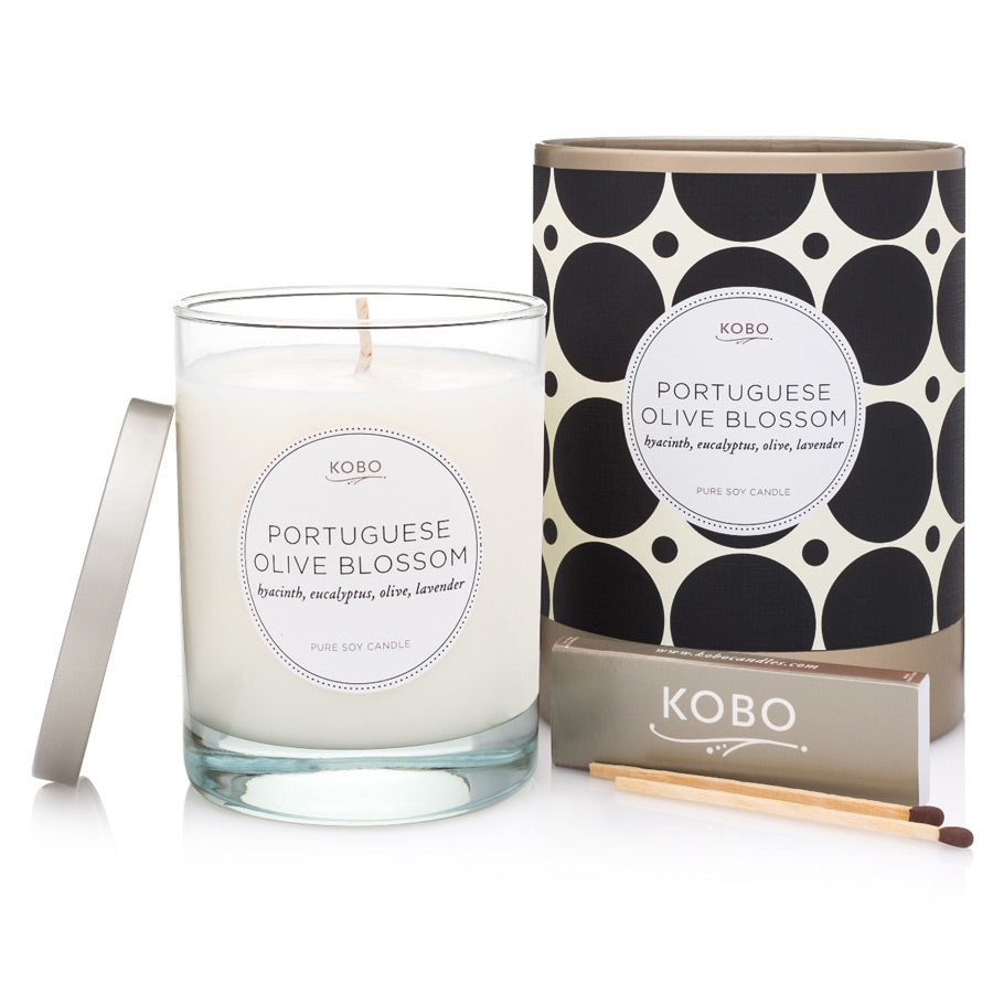 Kobo Portuguese Olive Blossom Candle 312g