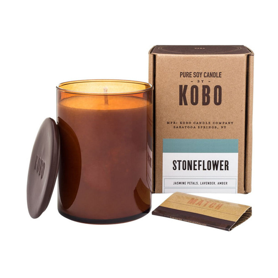 Kobo Stoneflower Candle 312g