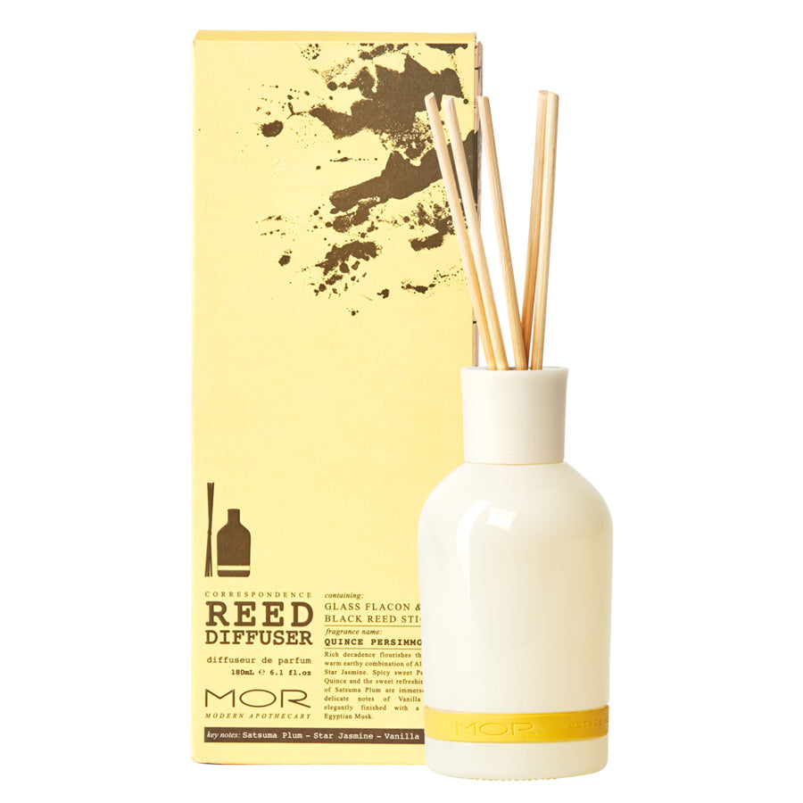 MOR Correspondence Quince Persimmon Reed Diffuser 180ml