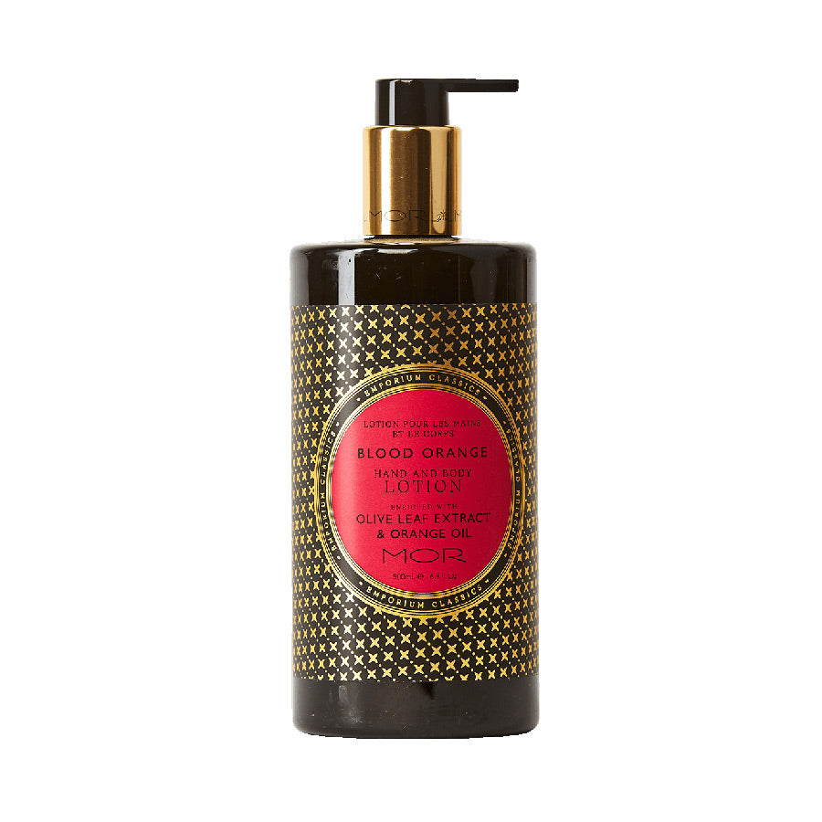 MOR Emporium Classics Blood Orange Hand & Body Lotion 500ml