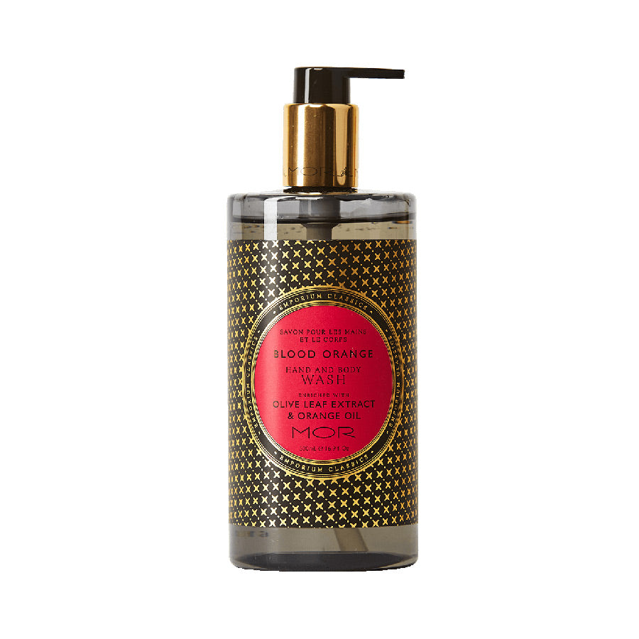 MOR Emporium Classics Blood Orange Hand & Body Wash 500ml