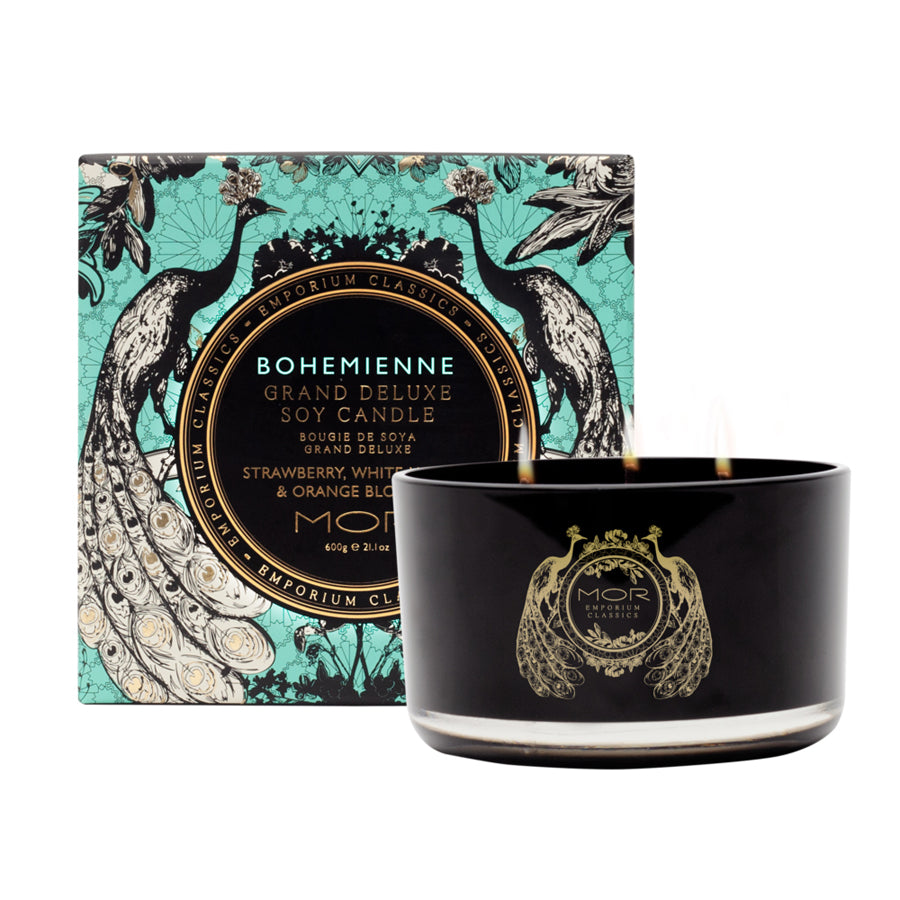 MOR Emporium Classics Bohemienne Grand Deluxe Soy Candle 600g