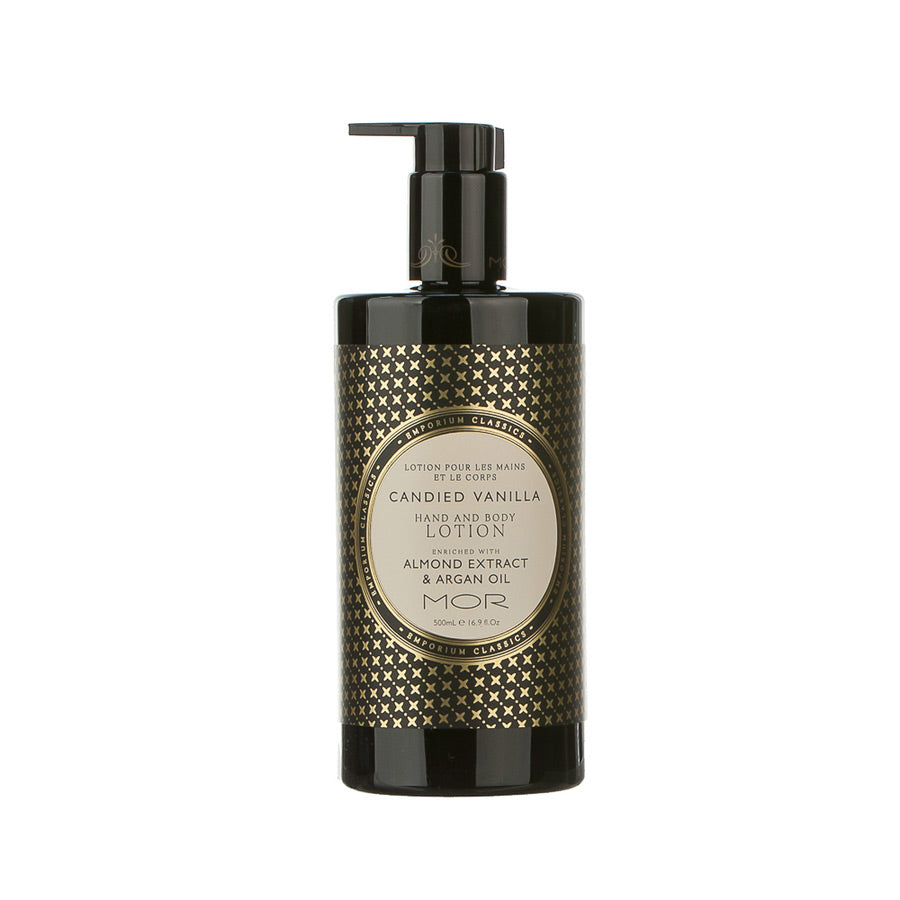 MOR Emporium Classics Candied Vanilla Hand and Body Lotion 500ml