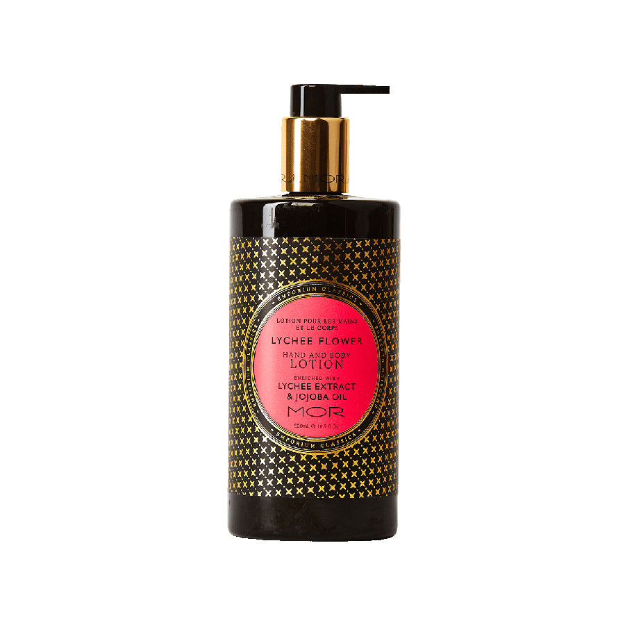 MOR Emporium Classics Lychee Flower Hand & Body Lotion 500ml