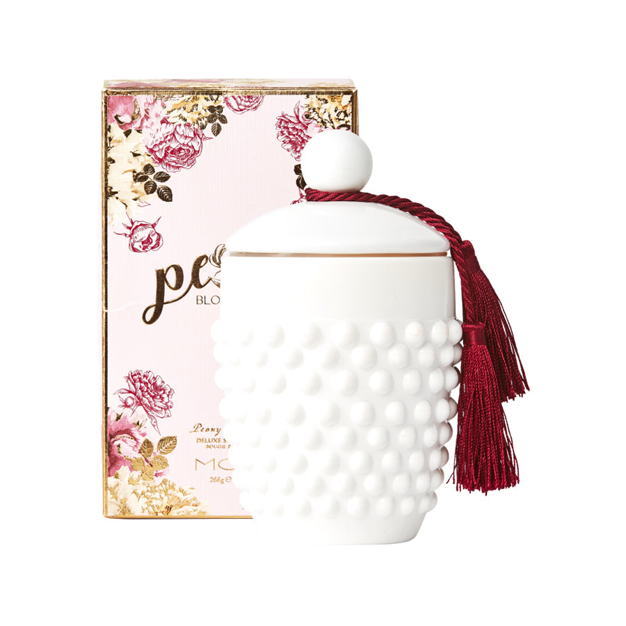 MOR Peony Blossom Deluxe Soy Candle 266g