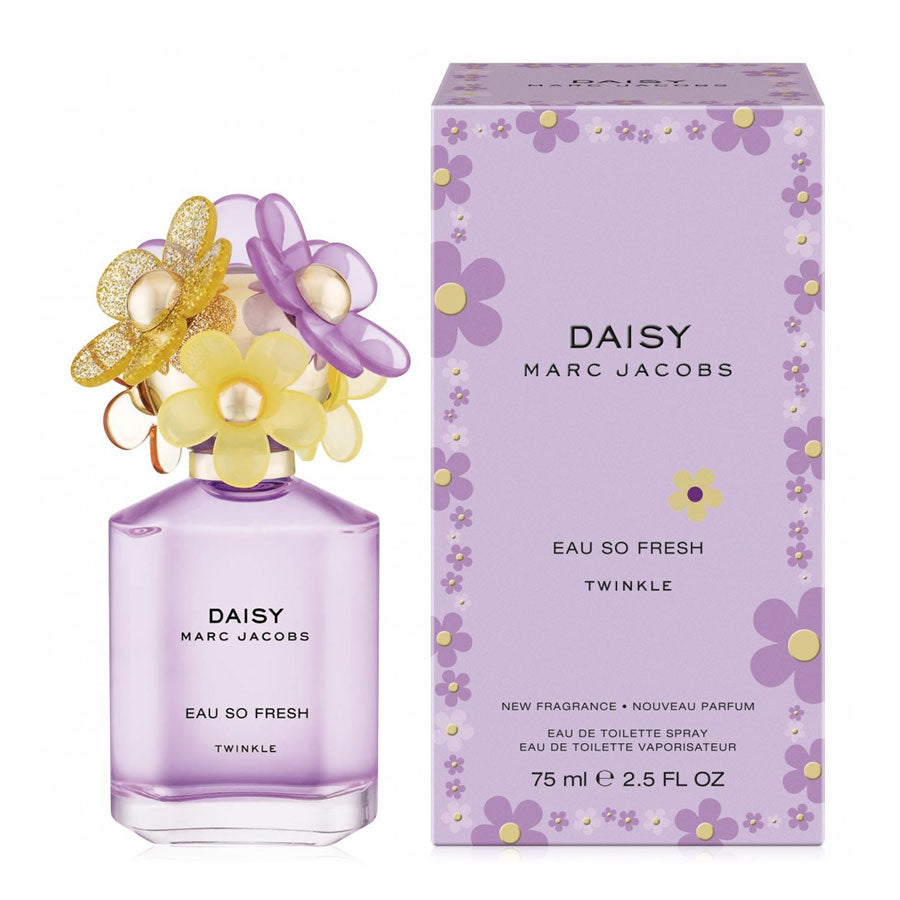 Marc Jacobs Daisy Eau So Fresh Twinkle Eau De Toilette 75ml