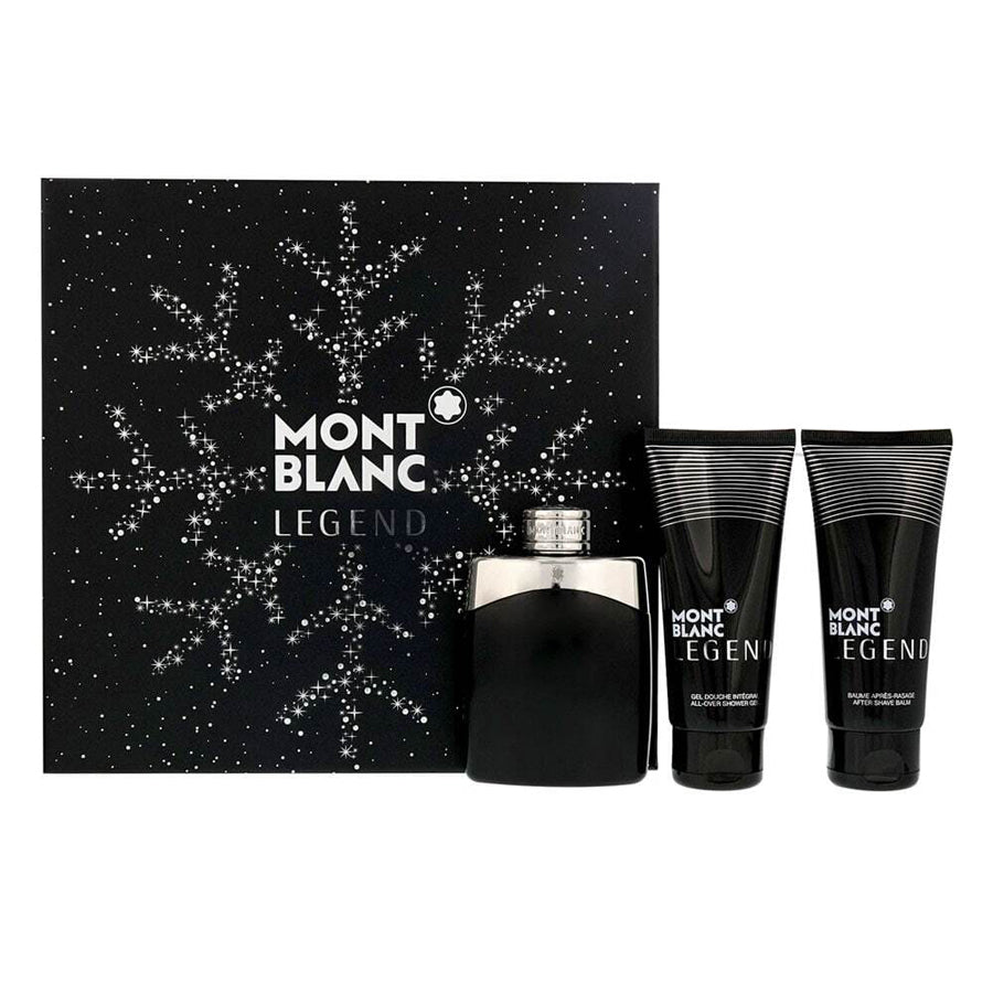 Mont Blanc Legend Eau De Toilette 100ml Gift Set