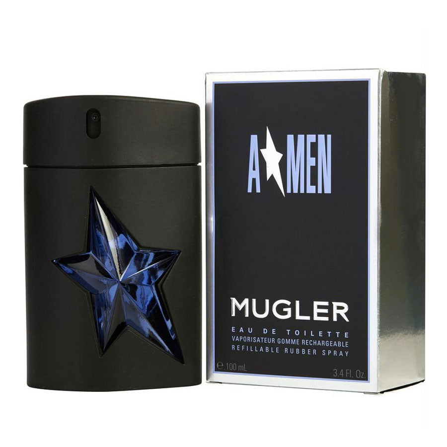 Mugler A*Men Eau De Toilette Refillable Rubber Spray 100ml