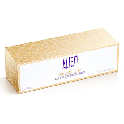 Mugler Alien Collection of Three Mini Scented Candles