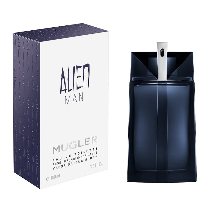 Mugler Alien Man Eau De Toilette Refiillable Spray 100ml