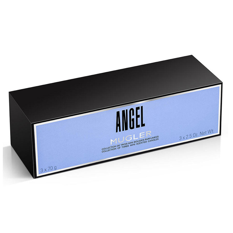 Mugler Angel Collection of Three Mini Scented Candles