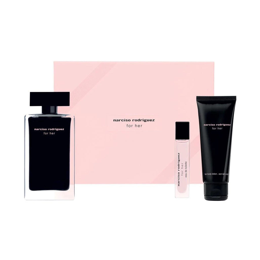 Narciso Rodriguez For Her Eau De Toilette 100ml Gift Set