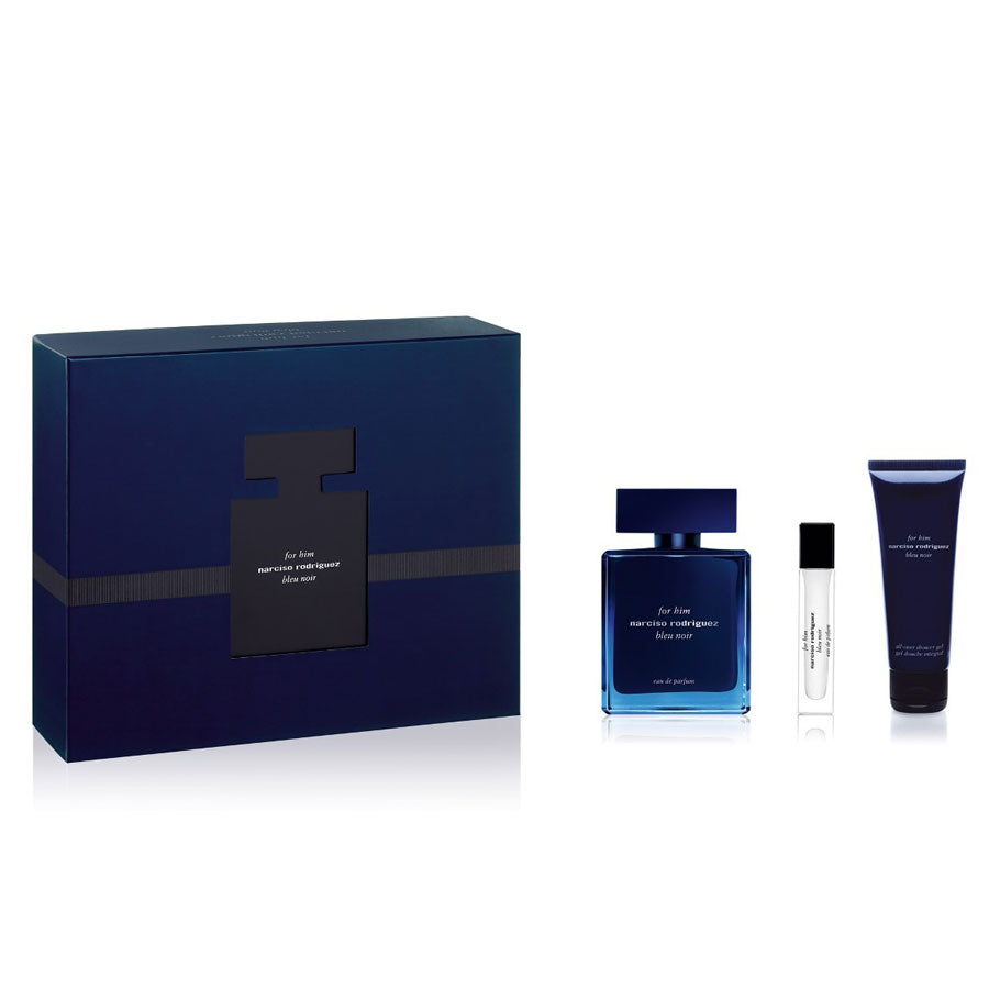 Narciso Rodriguez For Him Bleu Noir Eau De Parfum 100ml Gift Set
