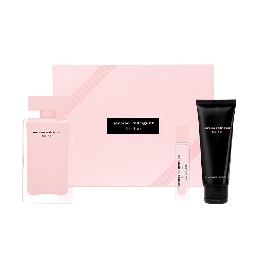 Narciso Rodriguez for Her Eau De Parfum 100ml Gift Set