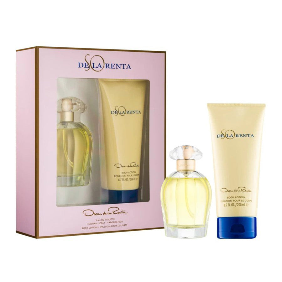 Oscar De La Renta So De La Renta Eau De Toilette 100ml Gift Set
